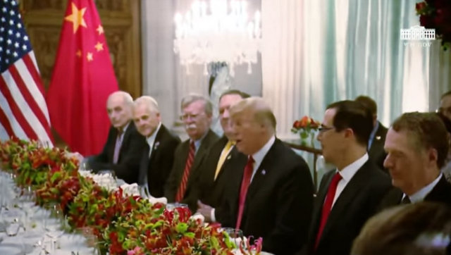 President Trump and President Xi of China at G-20