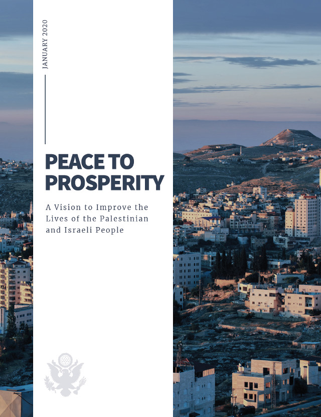 Vision for Peace, Prosperity & Brighter Future for Israel and the Palestinian People Unveiled