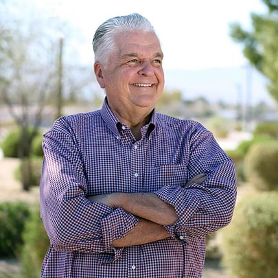 Governor Sisolak on One-Year Anniversary of First Presumptive Positive Covid Cases