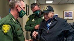 WWII Veteran Sheldon Beigel Honored as Honorary Deputy