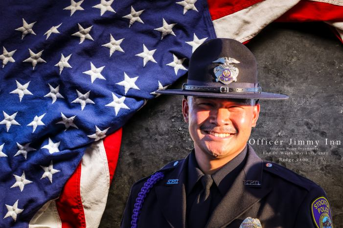Stocton Police Officer Jimmy Inn Killed While Responding to Domestic Violence Call