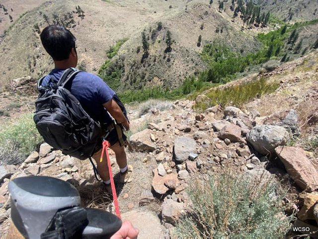 Washoe Sherriff's Office, WCSAR & HASTY Conduct Successful, Difficult Rescue