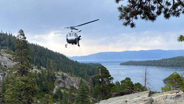 Injured Hiker Rescuted Near Eagle Falls