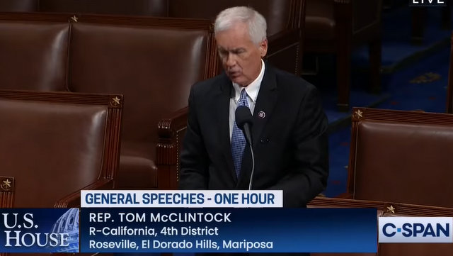 Sorry, Forest Service: Fire is NOT Our Friend ~Congressman Tom McClintock