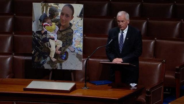 Honoring Marine Sergeant Nicole Gee ~ Congressman Tom McClintock