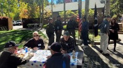 Incline Veteran's Club Hosted WCSO Deputies for Lunch