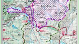 Caldor Fire Closure Area Reduced at Lake Tahoe
