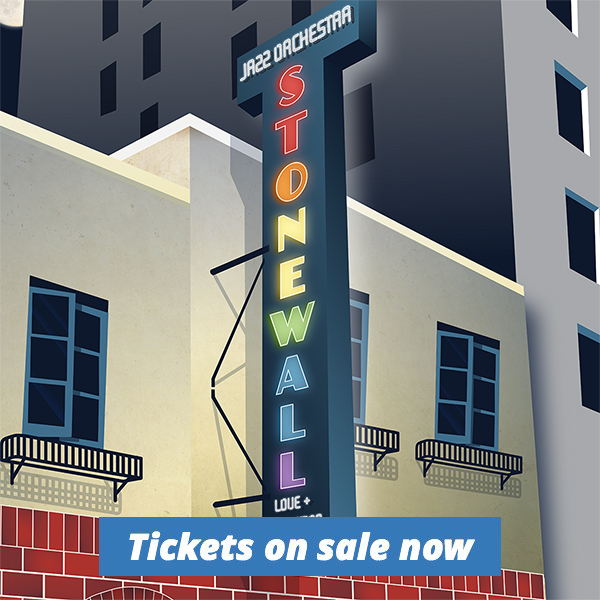 """Lakeside Pride Jazz Orchestra's """"Stonewall: Love and Liberation"""" tickets on sale now"""