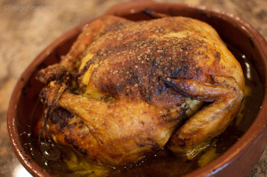 Golden Roasted Chicken Recipe