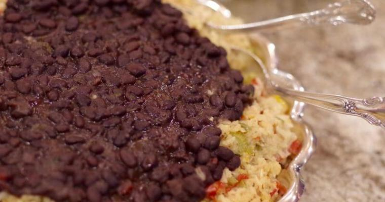 Moros Y Cristianos, Black Beans and Rice