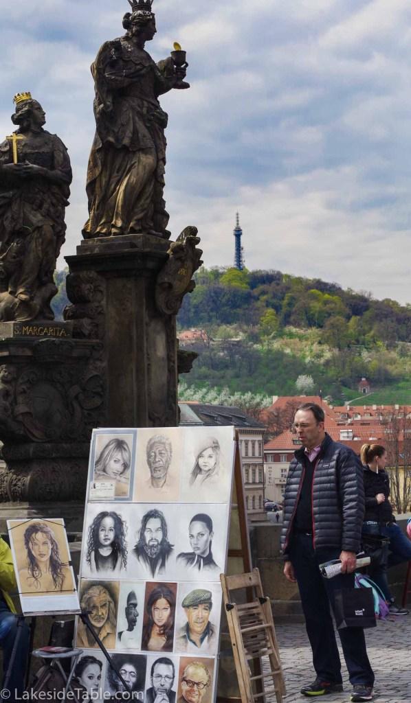 Prague's Charles Bridge, Art