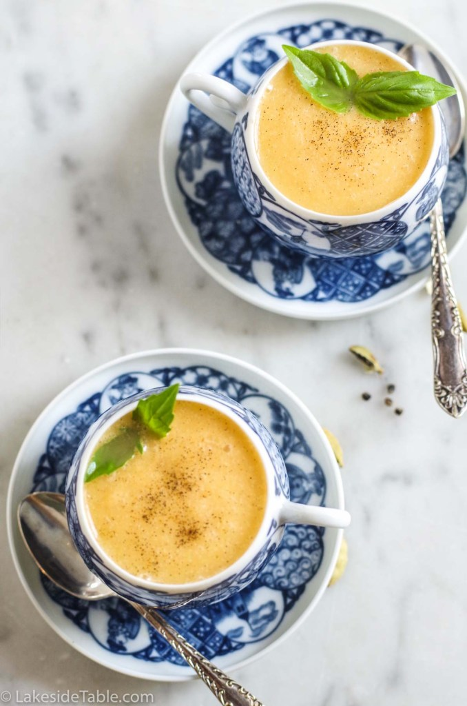 cantaloupe soup recipe
