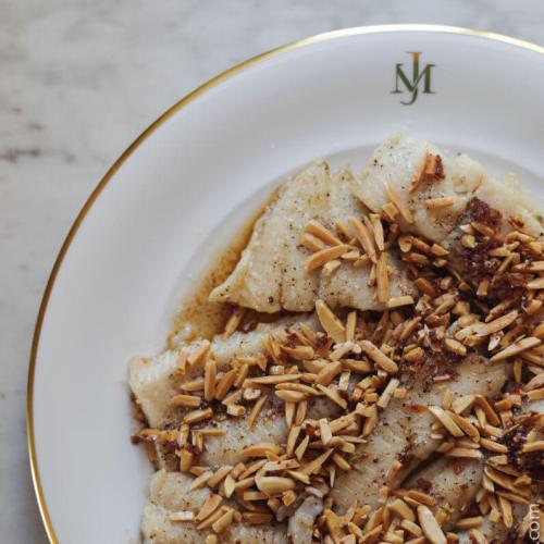 Brown Buttered Almond Trout Recipe