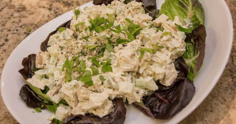 Savory Roast Chicken Salad