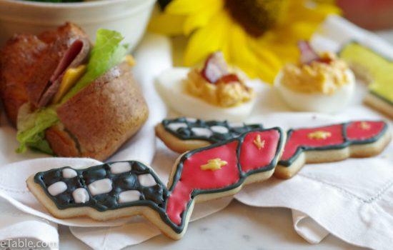 Sugar Cookies for our Corvette FUNFEST Road Trip Picnic