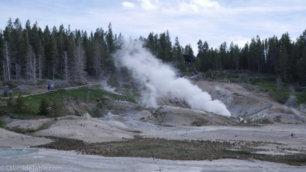 Geysers of Yellowstone Park