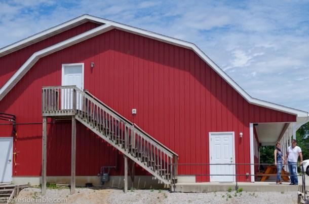 Marcoot Creamery - big red barn