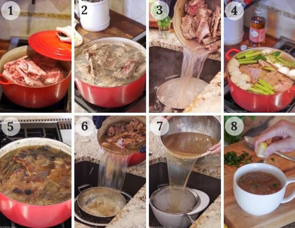 8 easy steps to make bone broth