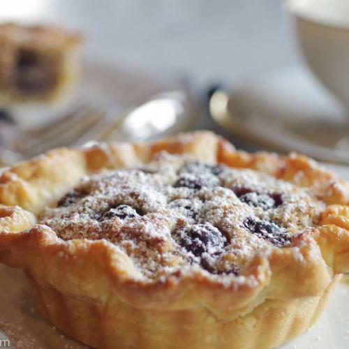 Mini Almond Blueberry Tart
