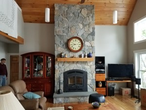 Natural Sone with hearth - NH Chimney Sweep