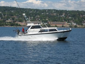 Happy Hooker Fishing Boat