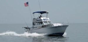 fishing boat Hooker IV