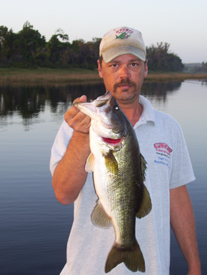 Johns Lake Bass Fishing report for November 2009