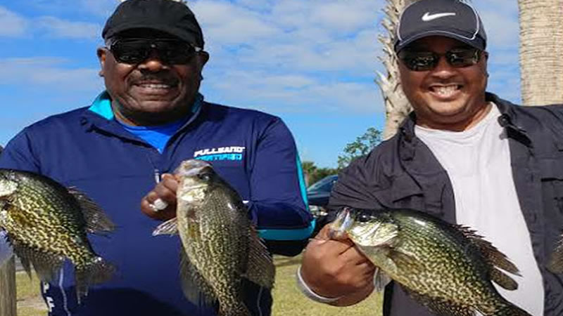 Lake Toho Crappie Fishing in Central Florida