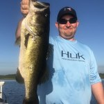Full Moon Fishing Charter for Trophy Largemouth Bass