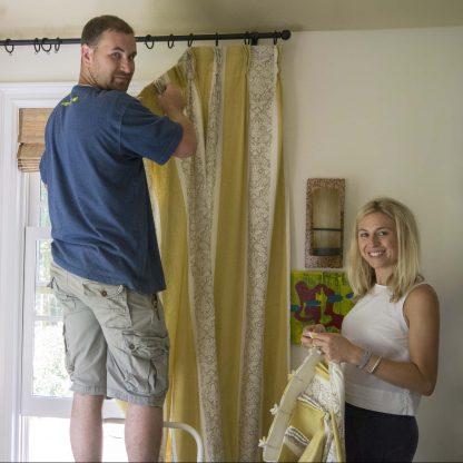 Courtney and Adam Kaufman Installation Insta