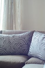 Inra Apartment Pillows and Drapes