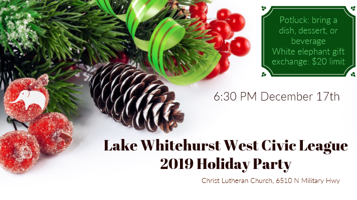 2019 Holiday Party & Monthly Meeting