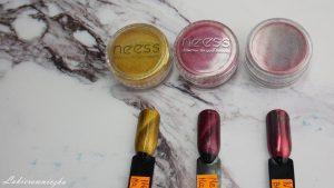 nowosci-magnetyczne-pylki-Neess-efekt-holo-jesienna-kolekcja-Lakierowniczka-lakiery-hybrydowe-hybrydy-magnetyczne pyłki Neess
