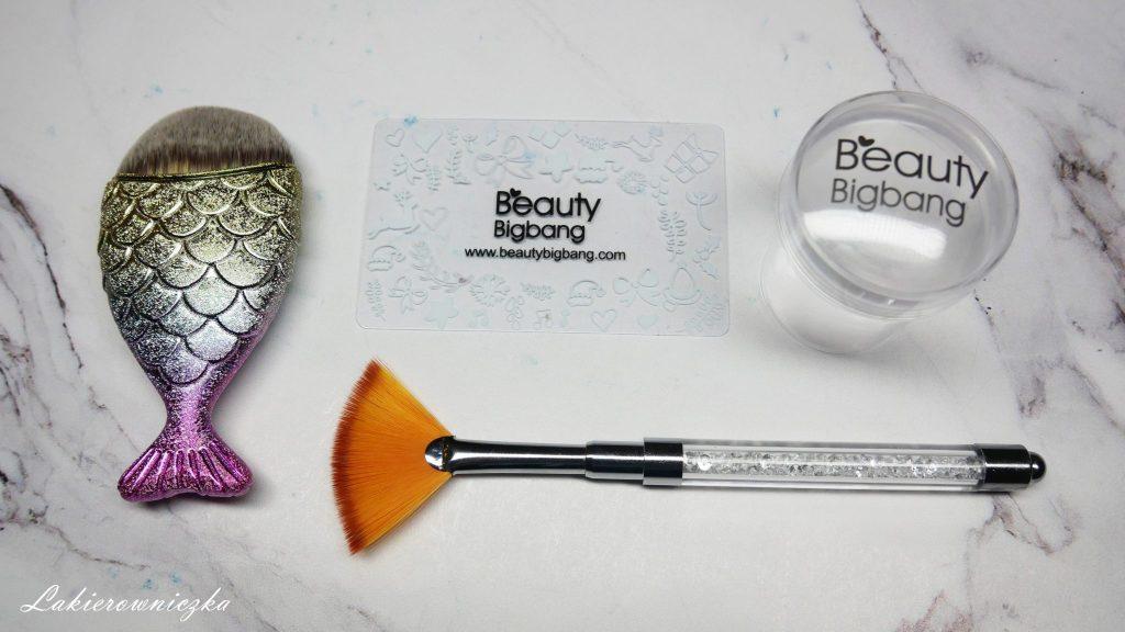 Beauty-bigbang-pedzelki-do-pylkow-przezroczysty-stempel-Lakierowniczka-pędzelki do pyłków