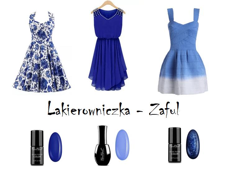 szukam-sukienki-na-wesele-Zaful-Lakierowniczka-sukienka-granatowa-z-koronka-lakiery-hybrydowe-hybrydy-Szukam sukienki na wesele- Zaful