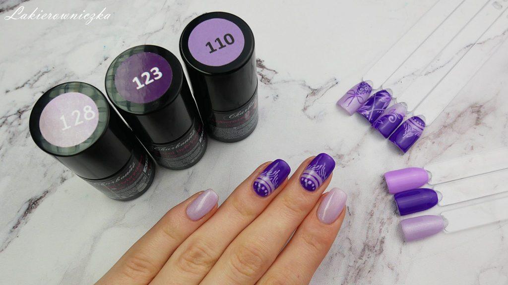 Ultra-fiolet-hybrydy-Charbonne-fioletowe-paznokcie-hybrydowe-123-energiczny-fiolet-110-wiosenny-128-chevrolet-havanna-purple-hybrid-nails-Lakierowniczka-ultra fiolet - hybrydy Charbonne