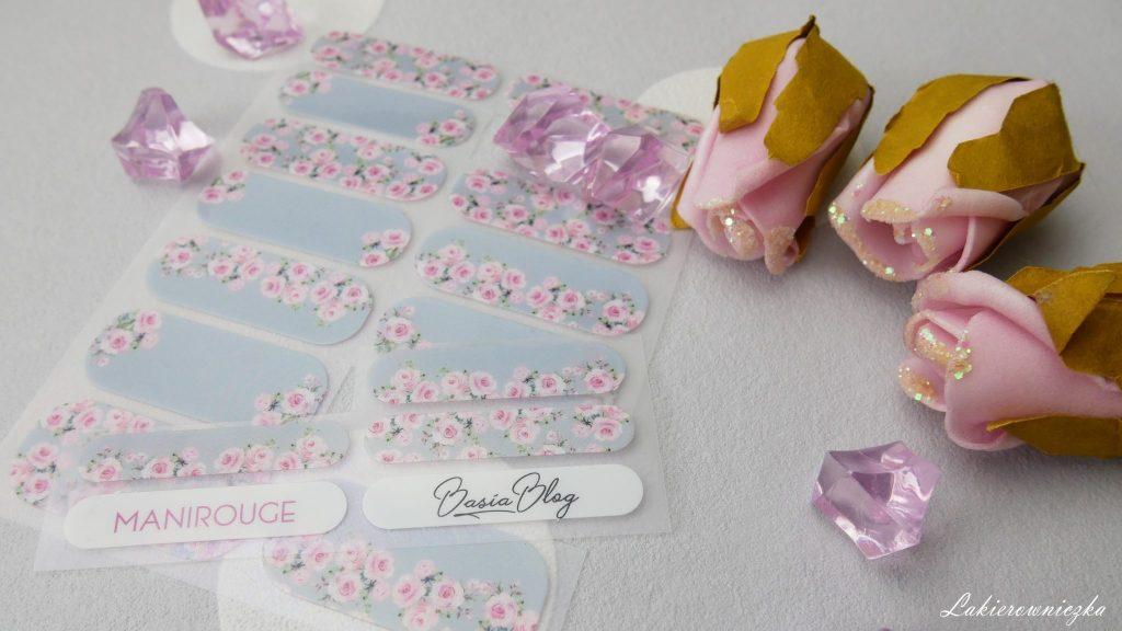 Manirouge-Basia-Blog-Rose-nakeljki-termiczne-szarne-paznokcie-w-roze-stickers-rose-nails-nailart-Lakierowniczka-Manirouge Basia Blog Rose