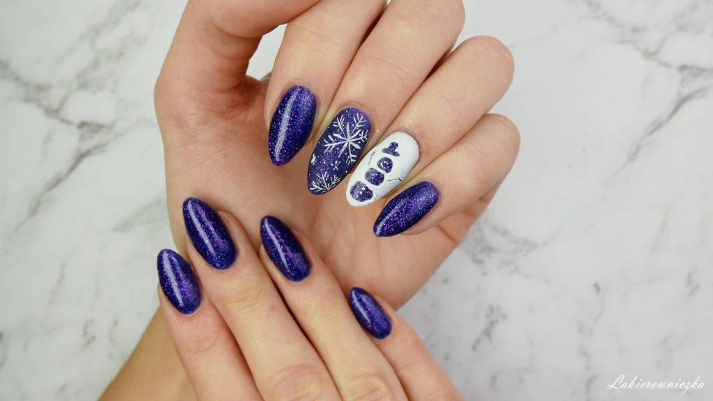 zimowe-paznokcie-hybrydowe-sniezynki-balwan-3D-winter-nails-hi-hybrid-#319-blue-nebula-Lakierowniczka-zimowe paznokcie