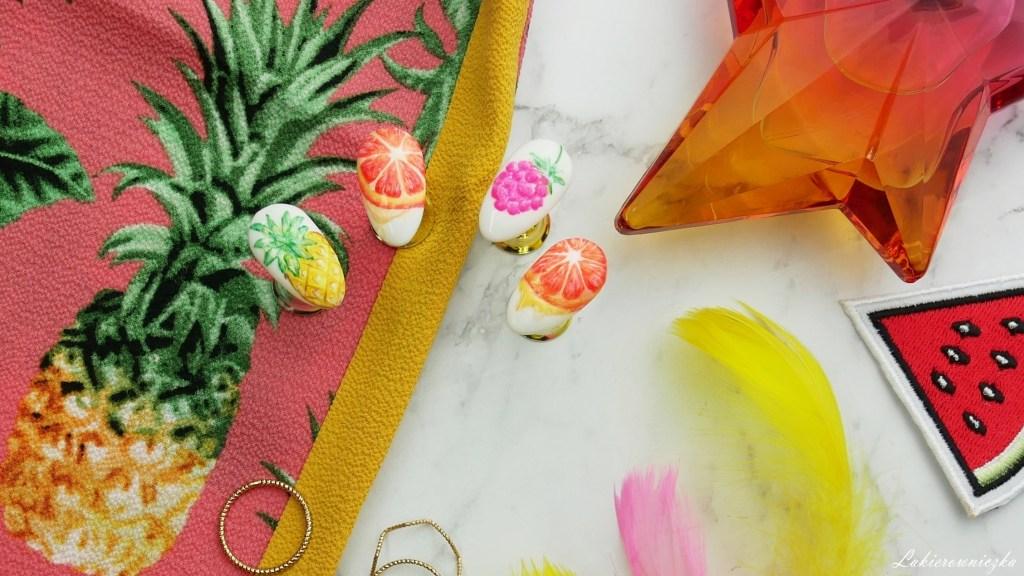 owoce-na-paznokciach-owocowe-hybrydy-paznokcie-w-pomarańcza-ananas-malina-Lakierowniczka