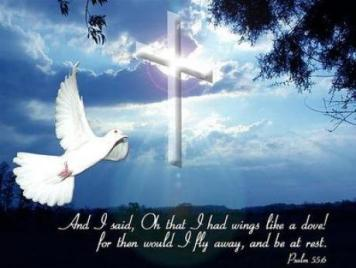 Image result for COndolences Cross and bird
