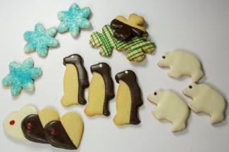 Butter Cookie Winter Assortment