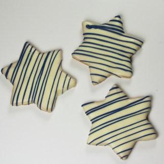 Butter Cookie Hanukkah Stars