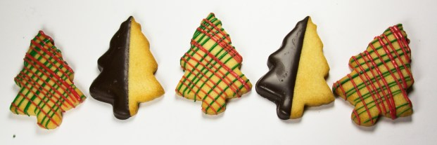 Butter Cookie Christmas Trees