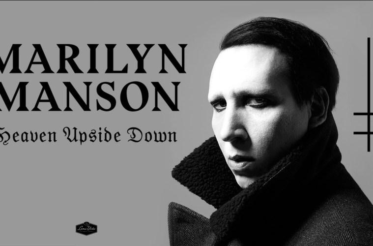 Heaven Upside Down by Marilyn Manson (Brian Warner) Album Music Review by Bryce Forren on Lakota East Spark Cincinnati Ohio Staff Online Culture