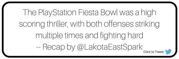 Fiesta Bowl Washington vs Penn State Game Recap by Broc Nordmark Art by Lauren Maier Lakota East Spark Newsmagazine Online