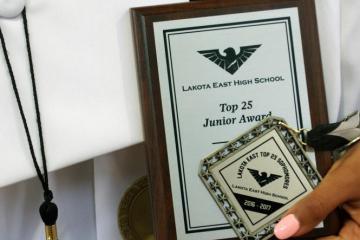 bea amsalu, alexandra fernholz, lakota east, lakota east spark, valedictorian, graduation