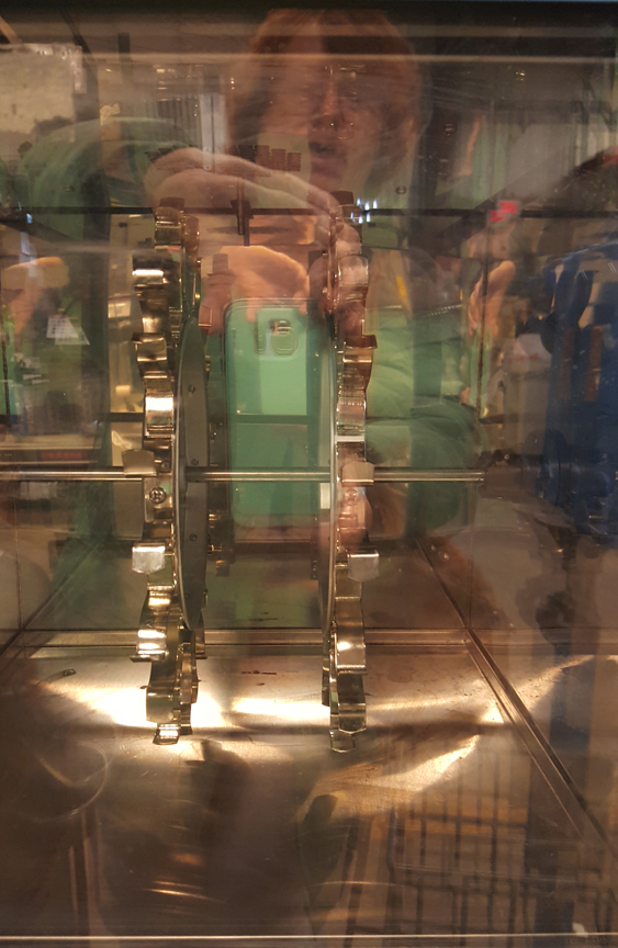 Picture of glass reflections