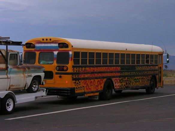 painted schoolbus
