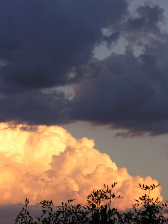 Two clouds