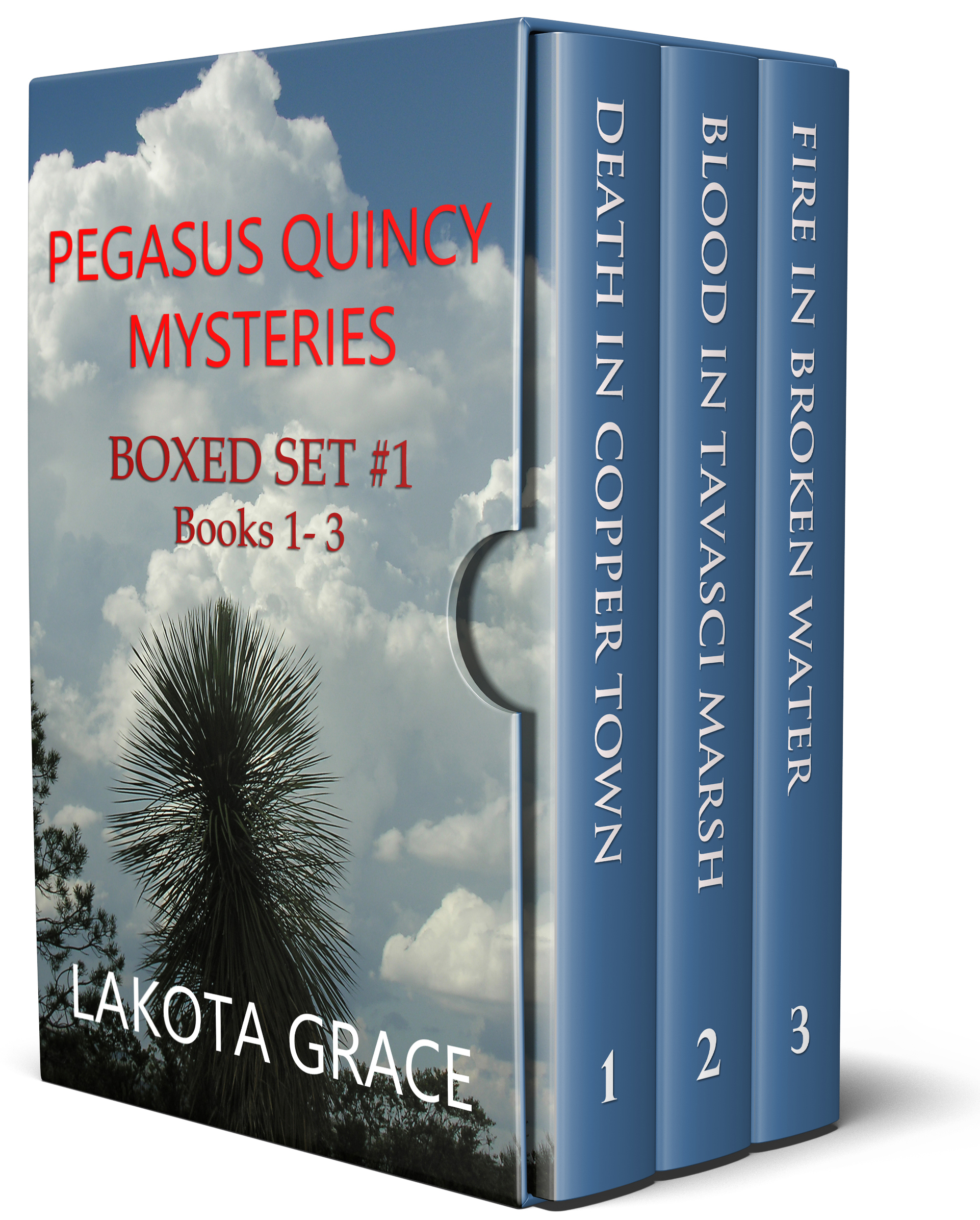 Special! Limited time Offer! Boxed Set of Pegasus Quincy Mysteries